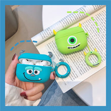 Load image into Gallery viewer, Monsters Inc. 'James 'Sully' Sullivan' Premium AirPods Pro Case Shock Proof Cover