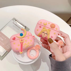 Sailor Moon Premium AirPods Pro Case Shock Proof Cover