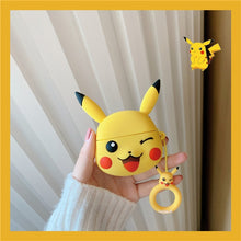 Load image into Gallery viewer, Pokemon 'Winking Pikachu' Premium AirPods Pro Case Shock Proof Cover