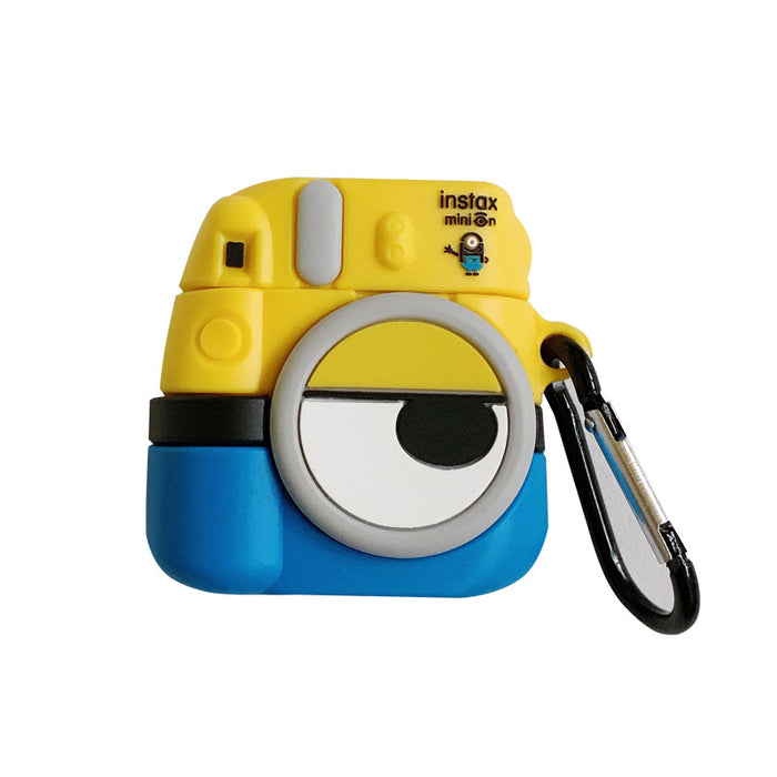 Minions Camera Premium AirPods Case Shock Proof Cover
