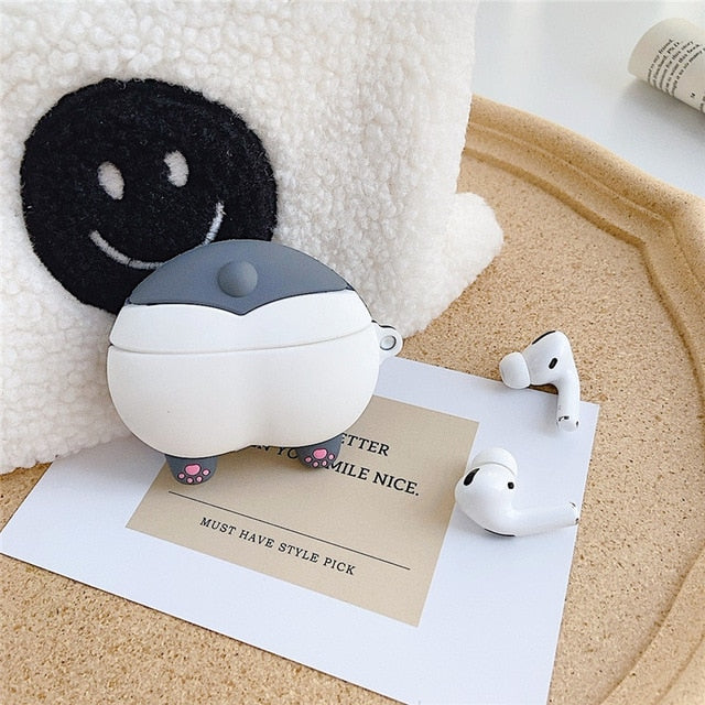 Cute Corgi Dog Booty Premium AirPods Case Shock Proof Cover
