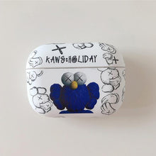 Load image into Gallery viewer, KAWS 'Blue Owl' AirPods Pro Case Shock Proof Cover