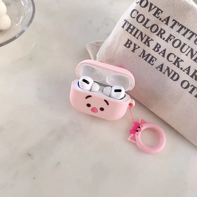 Winnie the Pooh 'Cute Piglet' Premium AirPods Pro Case Shock Proof Cover