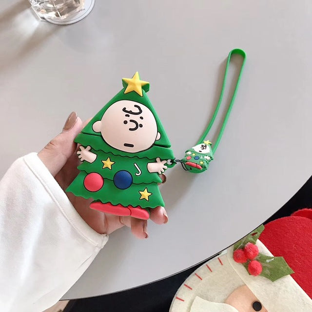 Charlie Brown Christmas Tree Premium AirPods Case Shock Proof Cover