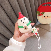 Load image into Gallery viewer, Snowman with Coffee Premium AirPods Case Shock Proof Cover