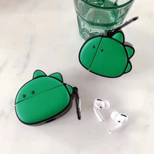 Load image into Gallery viewer, Green Dino Premium AirPods Pro Case Shock Proof Cover