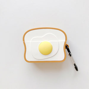 Egg on Toast Premium AirPods Pro Case Shock Proof Cover