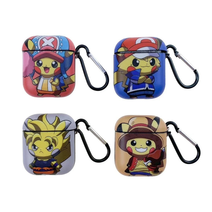 Pokemon | One Piece 'Crossover' AirPods Case Shock Proof Cover