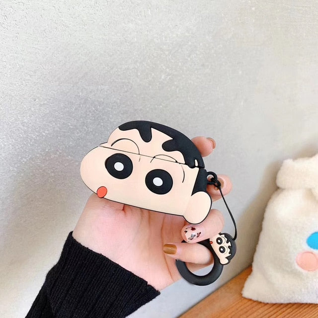 Crayon Shin Chan 'Shinnosuke Nohara' Premium AirPods Pro Case Shock Proof Cover