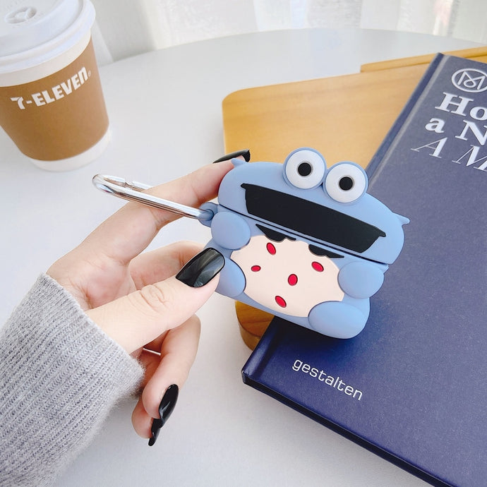 Baby Cookie Monster Premium AirPods Pro Case Shock Proof Cover