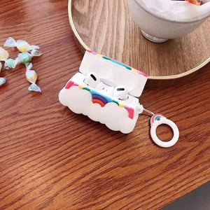 Cute Rainbow Premium AirPods Pro Case Shock Proof Cover