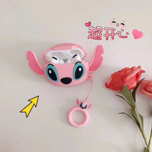 Lilo and Stitch 'Angel with Ears' Premium AirPods Pro Case Shock Proof Cover