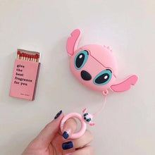 Load image into Gallery viewer, Lilo and Stitch 'Angel with Ears' Premium AirPods Pro Case Shock Proof Cover