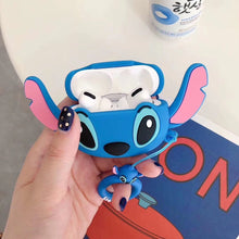 Load image into Gallery viewer, Lilo and Stitch 'Stitch with Ears' Premium AirPods Pro Case Shock Proof Cover