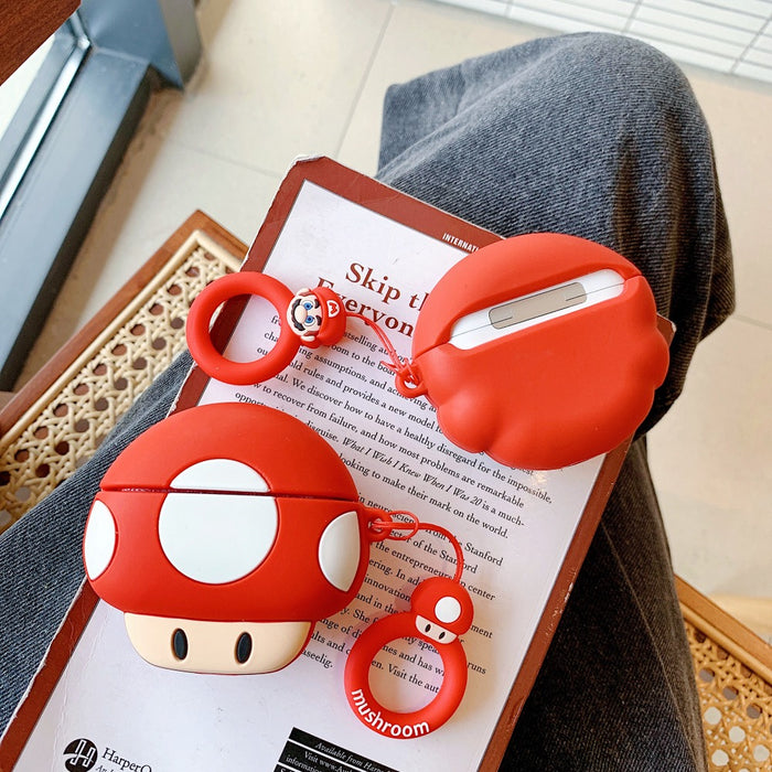 Super Mario Bros 'Toad' Premium AirPods Pro Case Shock Proof Cover