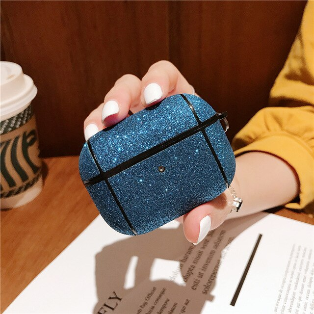 Glitter Powder AirPods Pro Case Shock Proof Cover