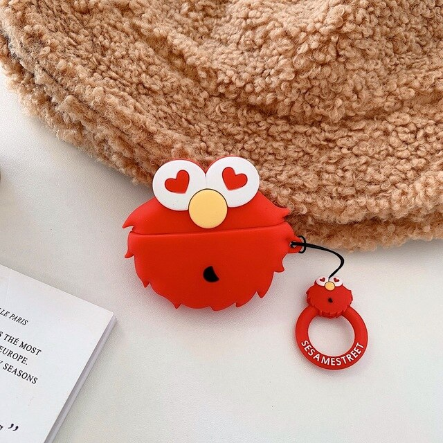 Sesame Street 'Elmo' Premium AirPods Pro Case Shock Proof Cover