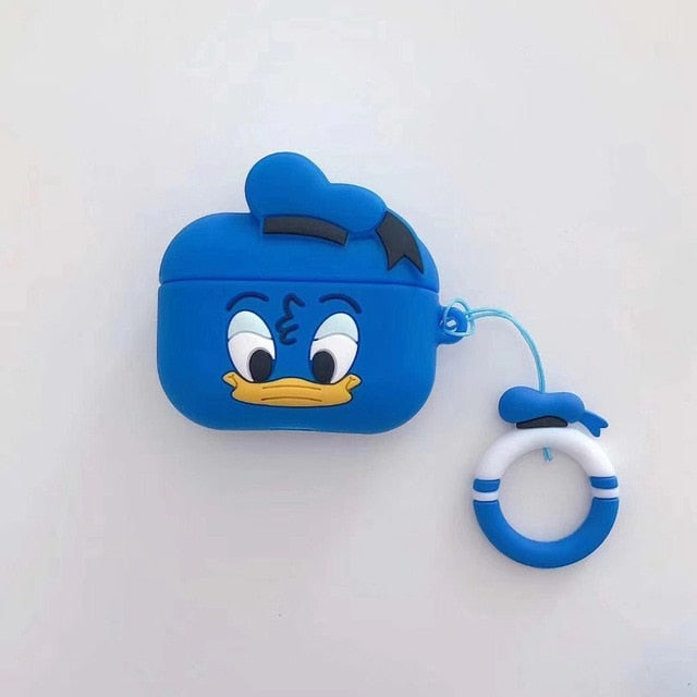 Disney 'Smirky Donald' AirPods Pro Case Shock Proof Cover