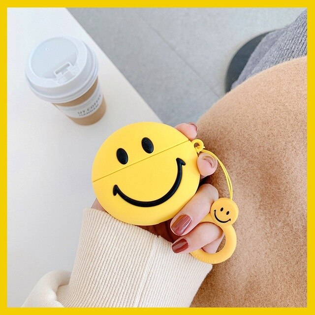 Smiley 'Have a Nice Day' Premium AirPods Case Shock Proof Cover