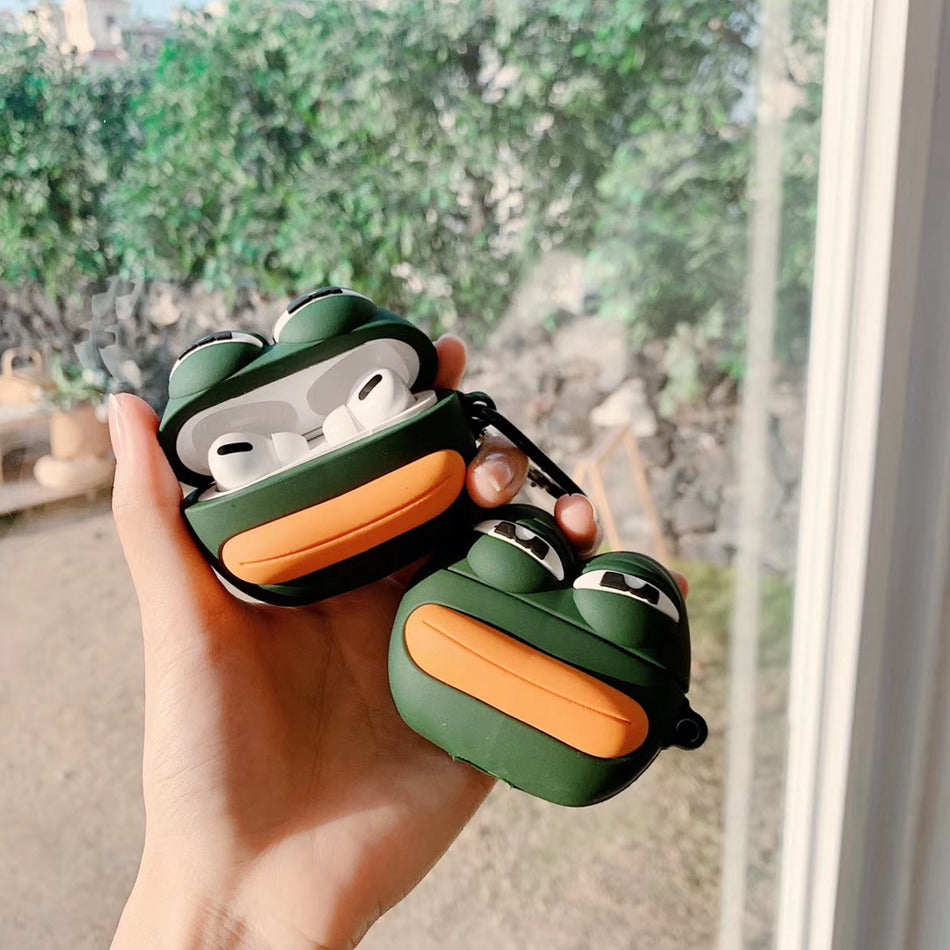 Pepe the Frog Meme Premium AirPods Pro Case Shock Proof Cover