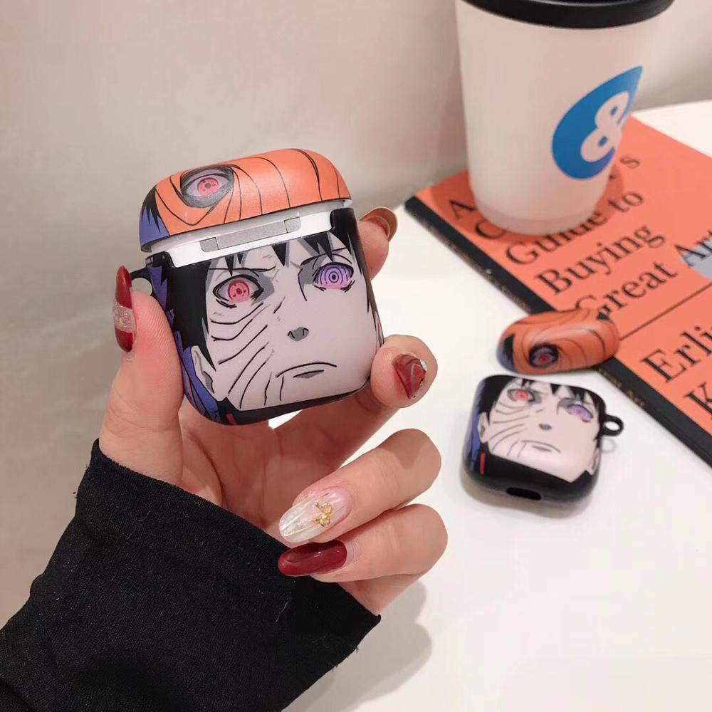 Naruto 'Uchiha Obito' AirPods Case Shock Proof Cover
