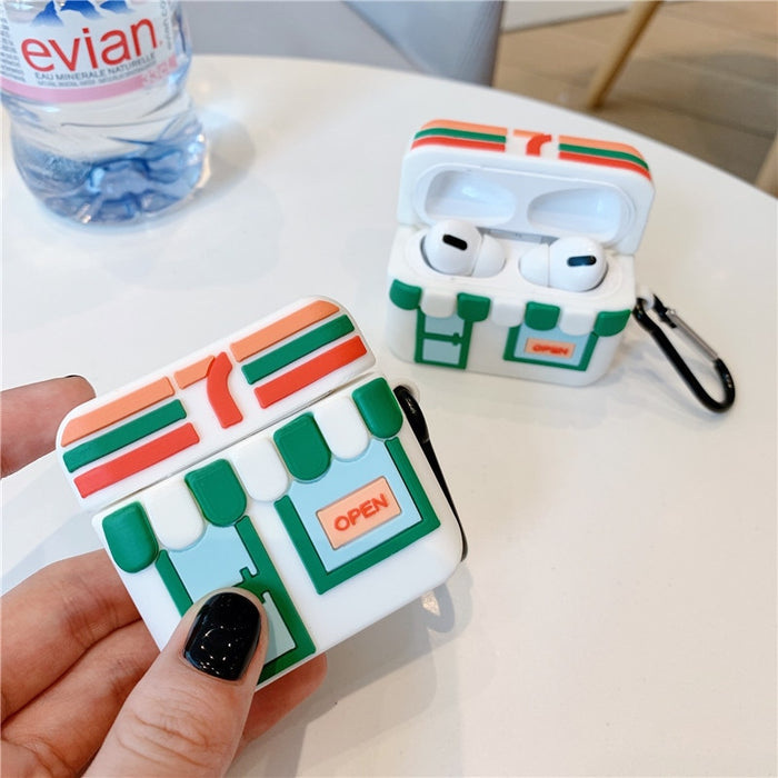 Cute 7-11 Store Premium AirPods Pro Case Shock Proof Cover