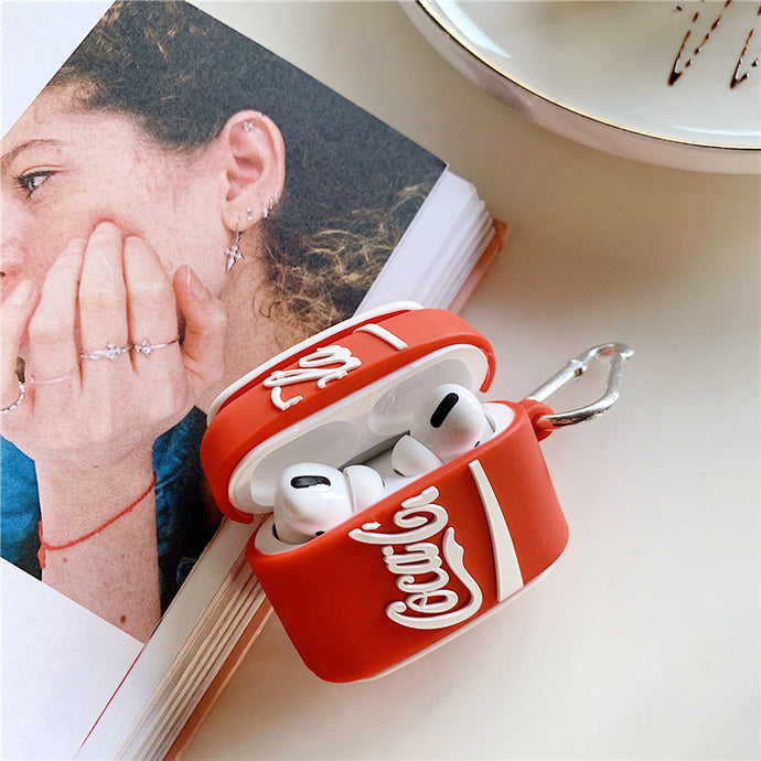 Coca Cola Can Premium AirPods Pro Case Shock Proof Cover