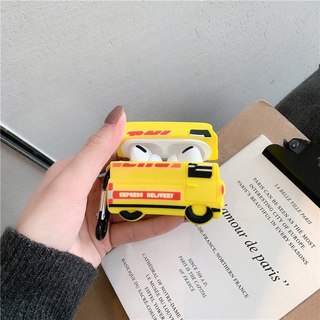 DHL Truck Premium AirPods Pro Case Shock Proof Cover