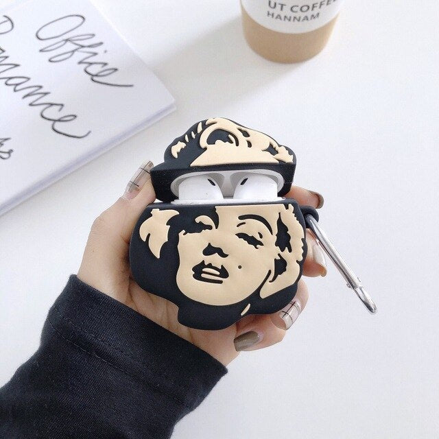 Marilyn Monroe Premium AirPods Case Shock Proof Cover