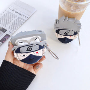 Naruto 'Kakashi Hatake' Premium AirPods Pro Case Shock Proof Cover