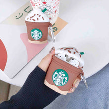 Load image into Gallery viewer, Starbucks Iced Chocolate Frappuccino Premium AirPods Case Shock Proof Cover