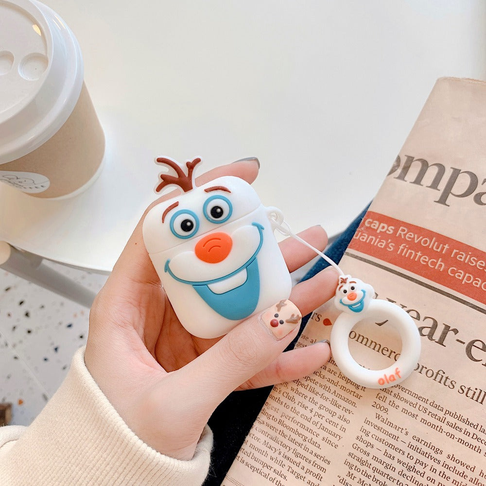 Frozen Olaf Premium Airpods Case Shock Proof Cover Iaccessorize