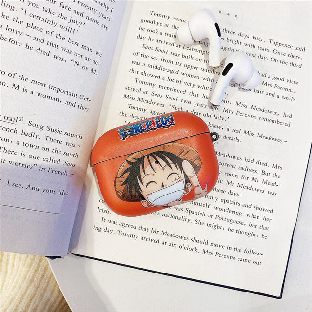 One Piece ' Luffy | Smiling' AirPods Pro Case Shock Proof Cover