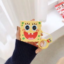 Load image into Gallery viewer, Spongebob 'Excited' Premium AirPods Pro Case Shock Proof Cover