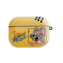 Load image into Gallery viewer, Tom and Jerry 'Jerry' AirPods Pro Case Shock Proof Cover