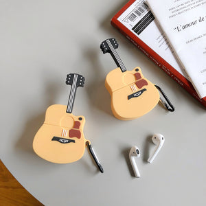 Acoustic Guitar Premium AirPods Case Shock Proof Cover