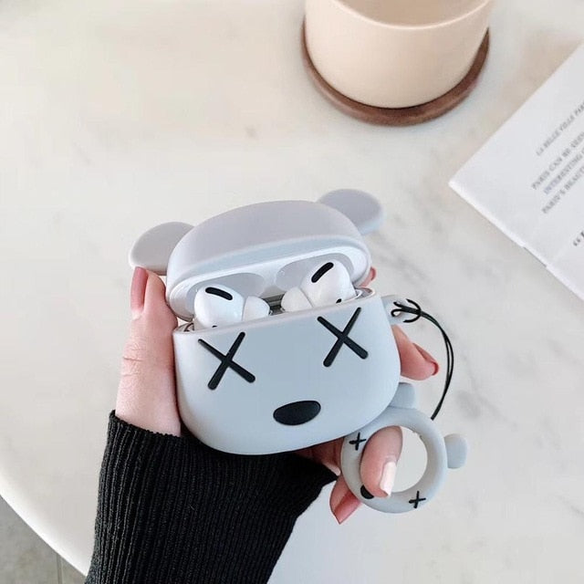KAWS Bear Premium AirPods Pro Case Shock Proof Cover