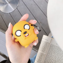 Load image into Gallery viewer, Adventure Time 'Jake The Dog' Premium AirPods Case Shock Proof Cover