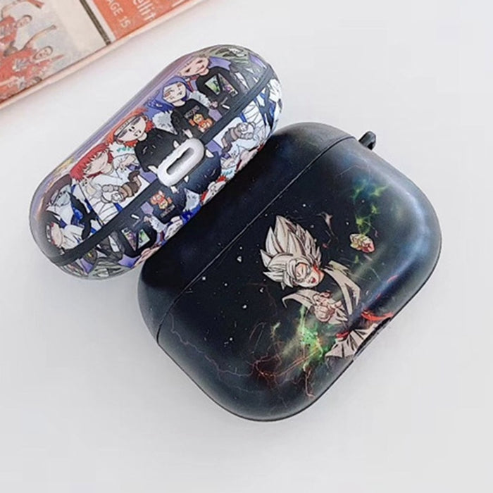 Dragon Ball Z 'Vegeta | Black' AirPods Pro Case Shock Proof Cover