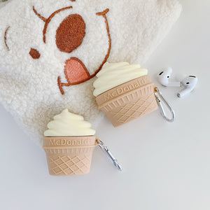 McDonald's Soft Serve Premium AirPods Pro Case Shock Proof Cover