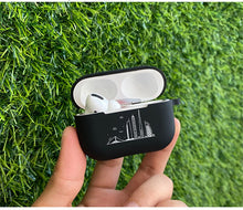 Load image into Gallery viewer, Black Silicone AirPods Pro Case Shock Proof Cover