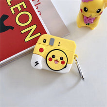 Load image into Gallery viewer, Pokemon 'Pikachu Camera' Premium AirPods Pro Case Shock Proof Cover