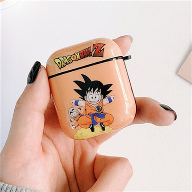 Dragon Ball Z 'Goten | Krillin' AirPods Case Shock Proof Cover