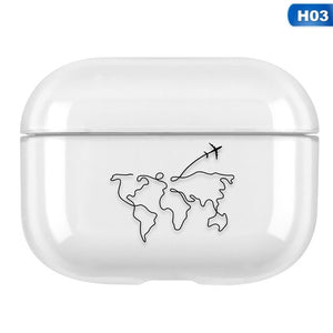 Clear Acrylic AirPods Pro Case Shock Proof Cover
