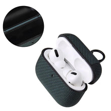 Load image into Gallery viewer, Fabric TPU | Plastic AirPods Pro Case Shock Proof Cover