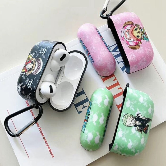 One Piece 'Luff | Zoro | Chopper' AirPods Pro Case Shock Proof Cover