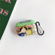 Load image into Gallery viewer, One Piece 'Excited Luffy' AirPods Pro Case Shock Proof Cover