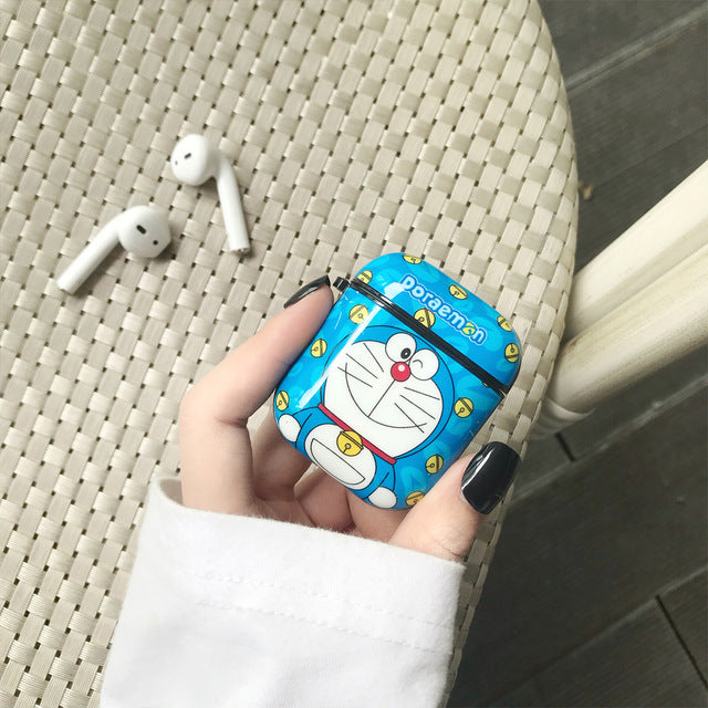 Doraemon 'Mini-Dora' | Winking' AirPods Case Shock Proof Cover