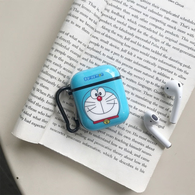 Doraemon 'Mini-Dora' AirPods Case Shock Proof Cover