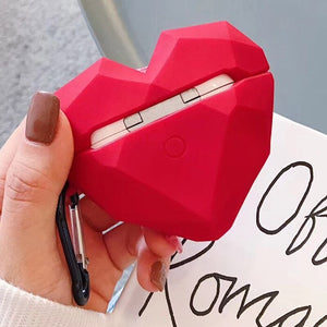 Geometric Heart Premium AirPods Pro Case Shock Proof Cover